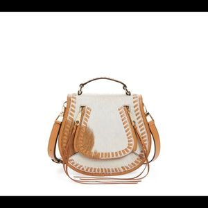 Rebecca Minkoff Genuine Calf Hair Saddle Bag